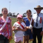 Calf Handler Junior Winners